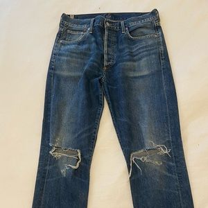 Citizens Of Humanity Jeans - Citizens of Humanity Liya Ripped Jeans Size 28